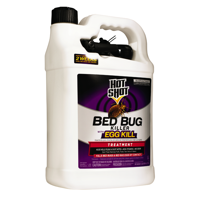 Hot Shot Bed Bug Killer With Egg Kill 1 Gallon Ready To Use Walmart Com Walmart Com