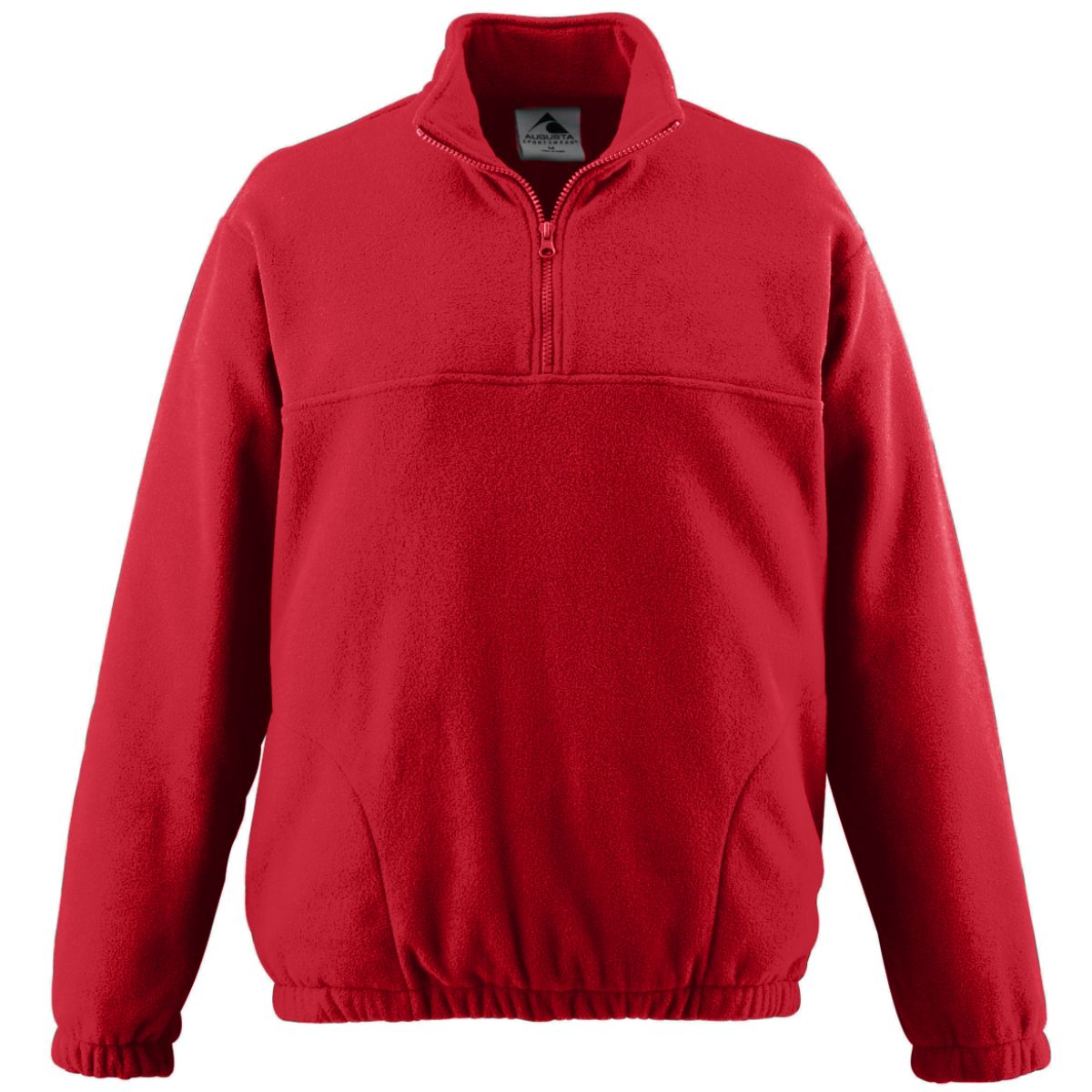 Augusta Sportswear Men/'s Polyester Front Pockets Fleece Half Zip Pullover 3530