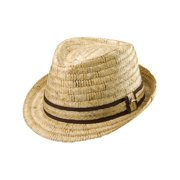 Buri Braid Fedora,  Natural