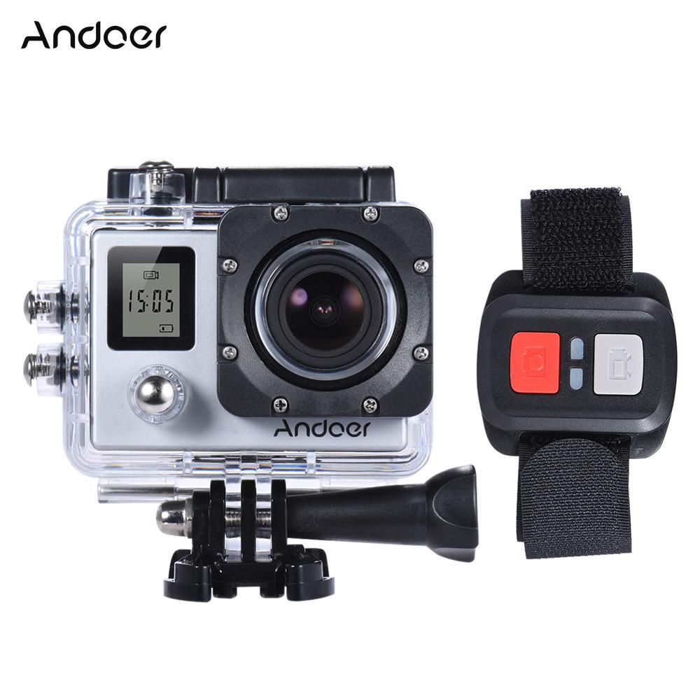 Andoer Dual Screen 4K 30fps 1080P 60fps 16MP  Waterproof ...