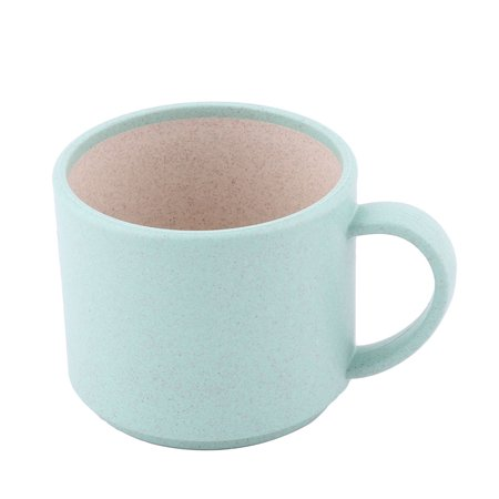Plastic Coffee Mug (Household Office Restaurant Water Coffee Tea Juice Drinking Cup Mug Green)