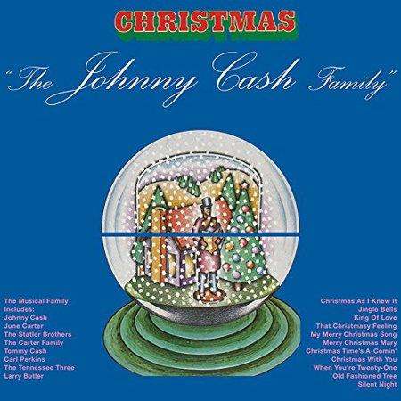 Johnny Cash Family Christmas  Vinyl   Limited Edition
