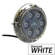 Bluefin LED P6N-SM-W113 Piranha P6 Nitro SM Underwater 12 V Light, Diamond White