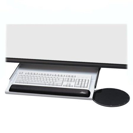 Under Desk Keyboard Tray Walmart Kelly Underdesk Keyboard Mouse Platform