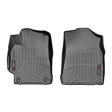 Weathertech (USA) WTC447881 Floor Liner DigitalFit (R) Molded Fit; Raised Channels With A Lower Reservoir; Black; High-Density Tri-Extruded Material; 2 Piece - image 1 of 1