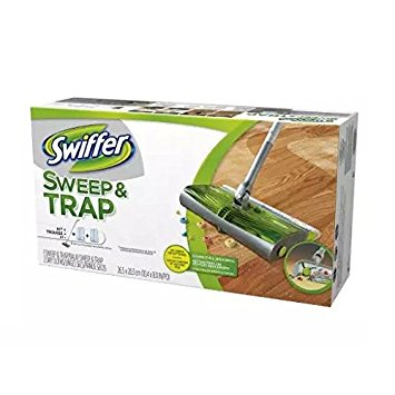 Swiffer Sweep & Trap in the Box Starter Kit 1.0 ea(packof 2)