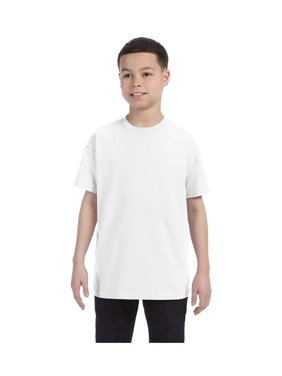 Gildan Big Boys Heavy Taped Neck Comfort Jersey T-Shirt, Style G5000B
