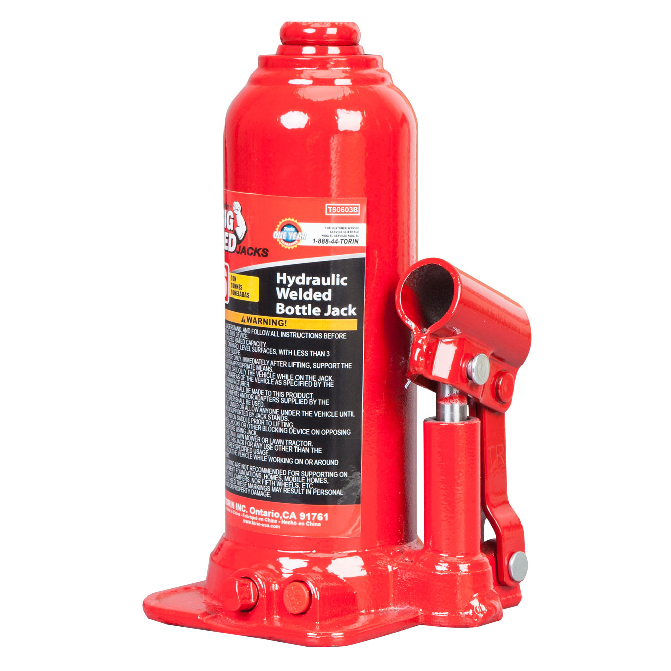 Torin Jacks 6 Ton Fast lift Bottle Jack