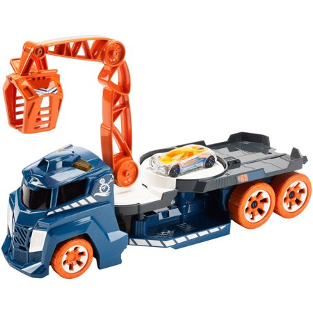 10 Wheel Crane (Hot Wheels Lights and Sounds Vehicle, Spinnin' Sound)
