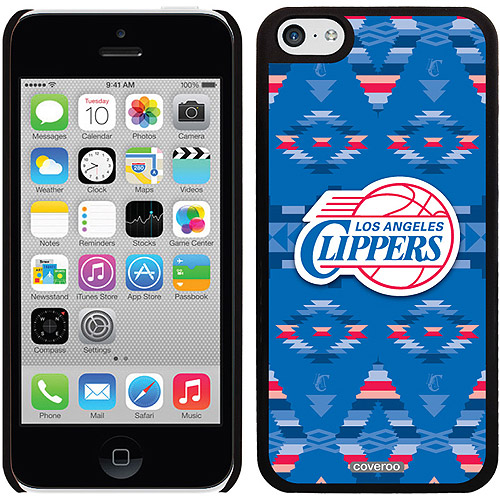 L.A. Clippers Tribal Print Design on Apple iPhone 5c Thinshield Snap-On Case by Coveroo