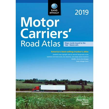 - 2019 Motor Carriers' Road Atlas : McRa