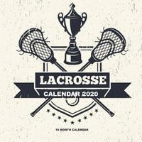 Lacrosse Calendar 2020: 16 Month Calendar (Paperback)