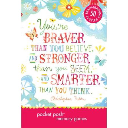 Pocket Posh: Memory Games : 50 Puzzles to Train Your Brain to Remember Anything