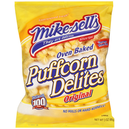 Mikesell's Oven Baked Original Puffcorn Delites, 3 oz