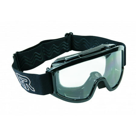 Youth MX/Off-Road Riding Goggles - Black