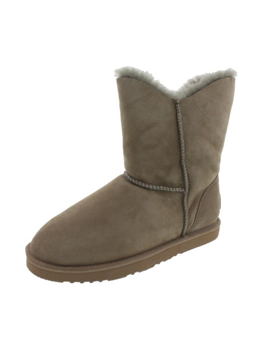 058a3704f2d Koolaburra Womens Double Halo Short Sheepskin Lined Ankle Boots