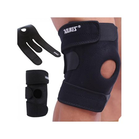 VICOODA Patella Knee Strap Adjustable Ultra-thin Breathable Fabric Strap Band Brace for Knee Support Fits Running, Basketball, Outdoor Sports Help with Jumpers and Runners Knee