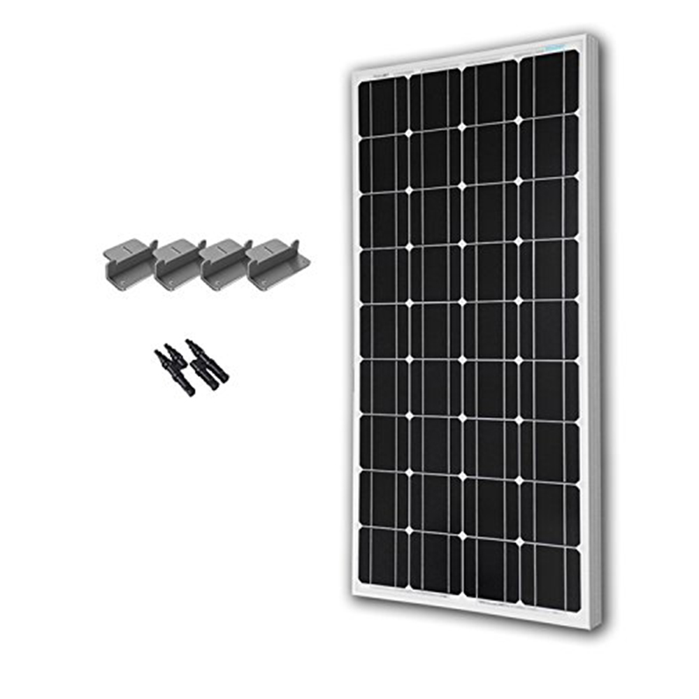 Renogy 100 Watt 12 Volt Monocrystalline Solar Expansion Kit