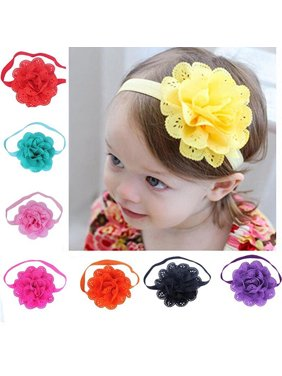 2fb9131839a Product Image Heepo 8Pcs Lovely Baby Girls Hollow Flower Headband  Photography Props Hair Band