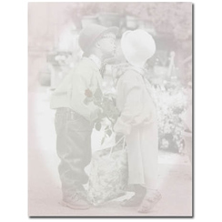 Great Papers 922120 First Kiss Letterhead - 80 Sheets/Pack