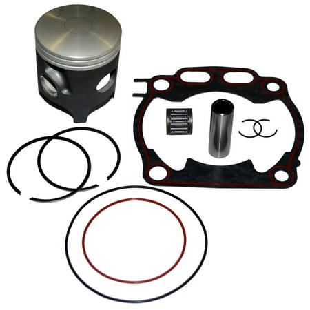 Yz250 Top End Gasket - Top Notch Parts Yamaha Yz 250 YZ250 Piston Rings Gasket Kit Set 2000-2013