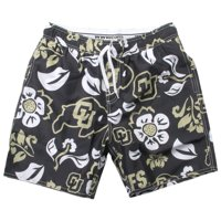 Men's University of Colorado Buffaloes Swim Trunks Floral Swim Shorts
