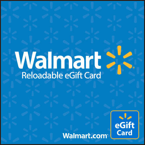 Basic Blue Walmart eGift Card