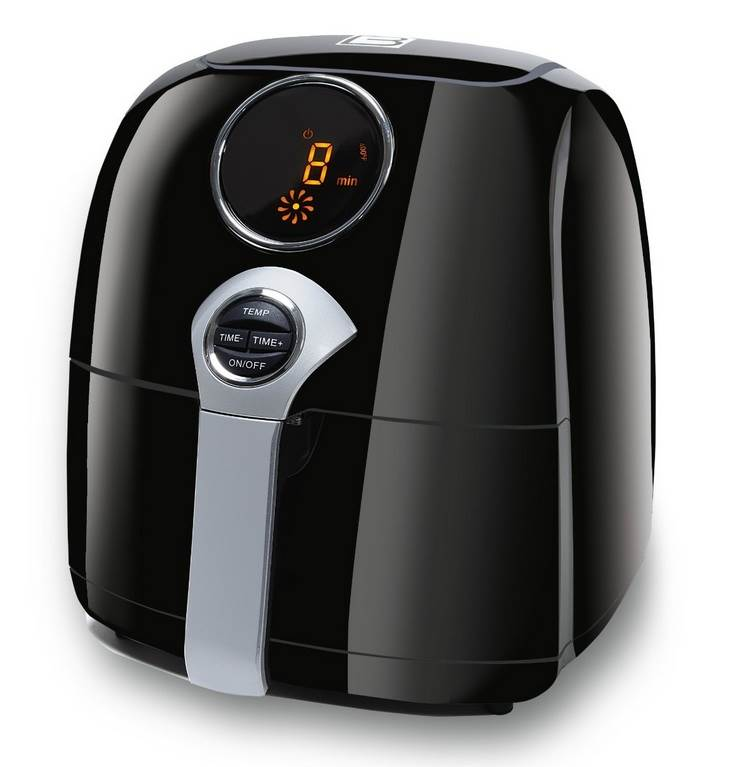 JetFry Digital Oil-Free Fryer - Black