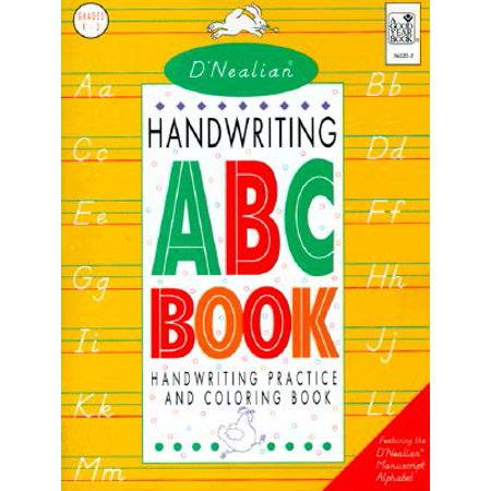 D'Nealian Handwriting ABC Book, Grades - Handwriting Books