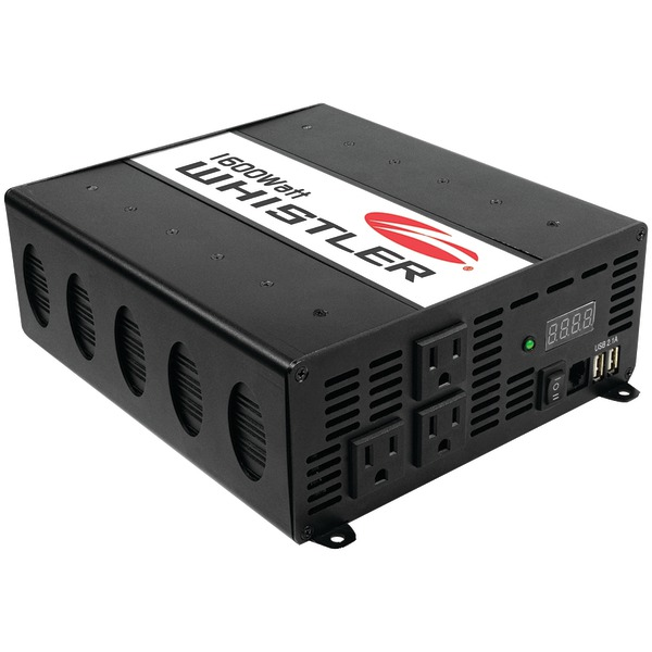 Whistler 1600W Power Inverter with Overload Indicator