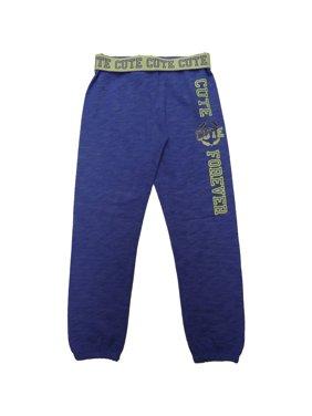 Danksin Now Girls Graphic Fleece Jogger Sweatpants