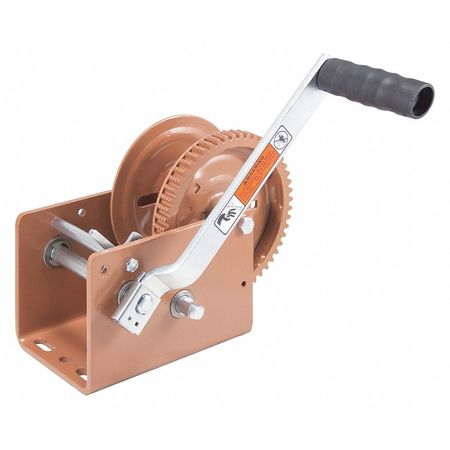 Goldenrod Dutton-Lainson DL1802A 1800 lb Plated Pulling Winch