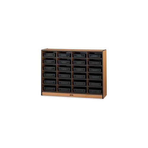 Sproutz 0624JC342 - 24 Paper Tray Cubbies Without Trays - Navy Trim