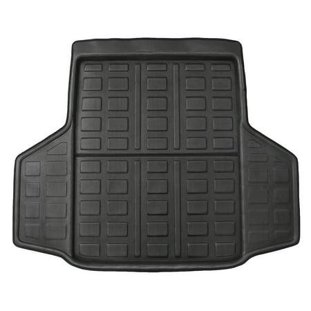 Honda Accord Trunk Liner (For Honda Accord 10th Gen 2018 Black Rear Trunk Mat Cargo Boot Liner Floor Pad Carpet)