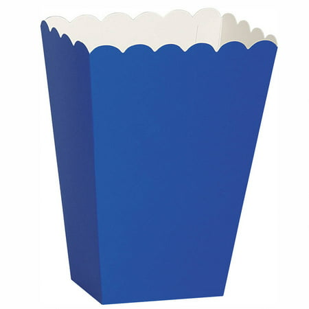 Paper Scalloped Treat Favor Boxes, Blue, 8ct](Toy Story Treat Boxes)