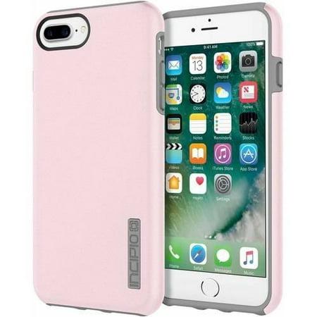 purchase cheap 356f3 a519b Incipio DualPro Case for Apple iPhone 6 Plus, iPhone 6S Plus, and iPhone 7  Plus, Iridescent Rose Quartz/Gray