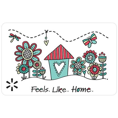 Feels Like Home Walmart eGift Card
