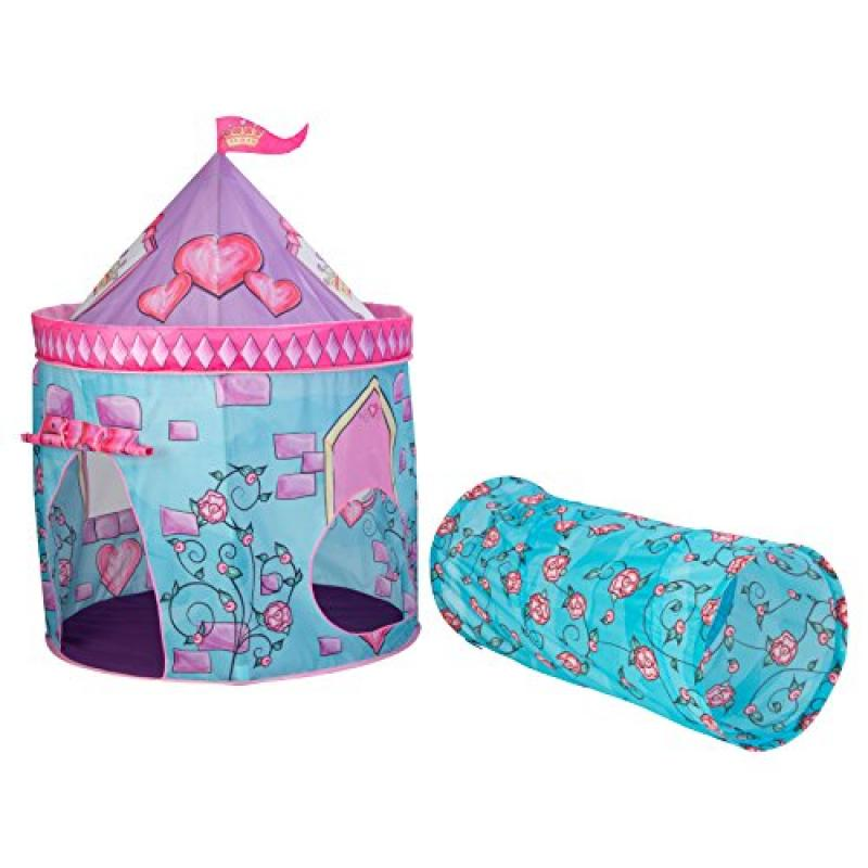 KidKraft Castle Tent with Tunnel Pink  sc 1 st  Walmart & KidKraft Castle Tent with Tunnel Pink - Walmart.com