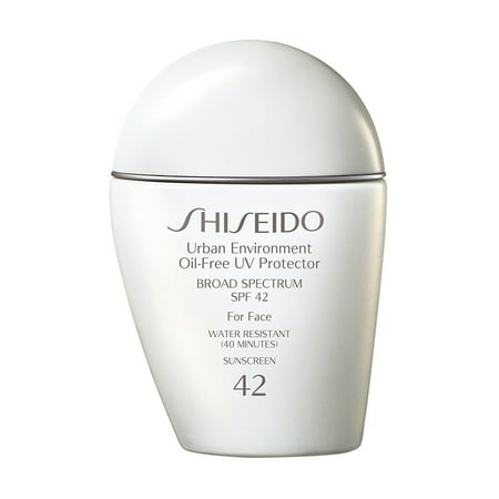 Shiseido Urban Environment Oil-Free UV Protector Broad Spectrum SPF 42 Facial Sunscreen, 1 Oz (Shiseido Sun Protection Lotion)