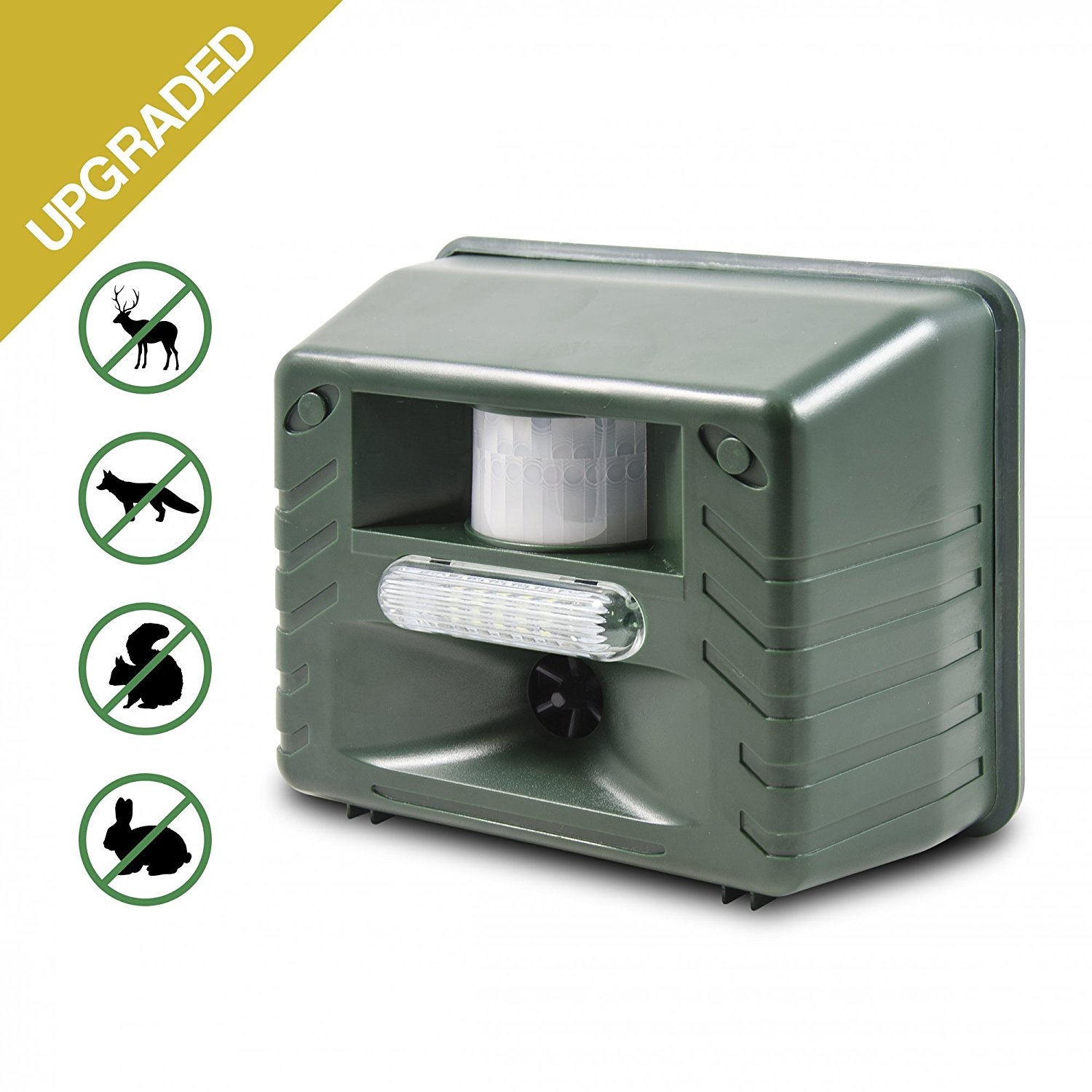 Aspectek Yard Sentinel STROBE- Ultrasonic Outdoor Animal ...