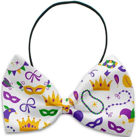 Mardi Gras Masks Pet Bow Tie (Mardi Gras Bow Ties)