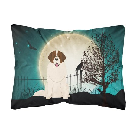 Halloween Scary Moscow Watchdog Canvas Fabric Decorative Pillow
