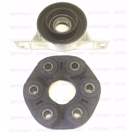 B4 Bearing - BMW Driveshaft Center Carrier Support with Bearing + Flex Disc Guibo Joint Kit