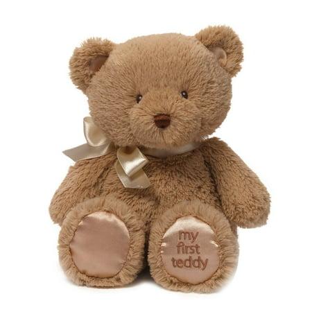 10' Gund Teddy Bear - Baby My First Teddy Bear Stuffed Animal Plush in Tan, 10