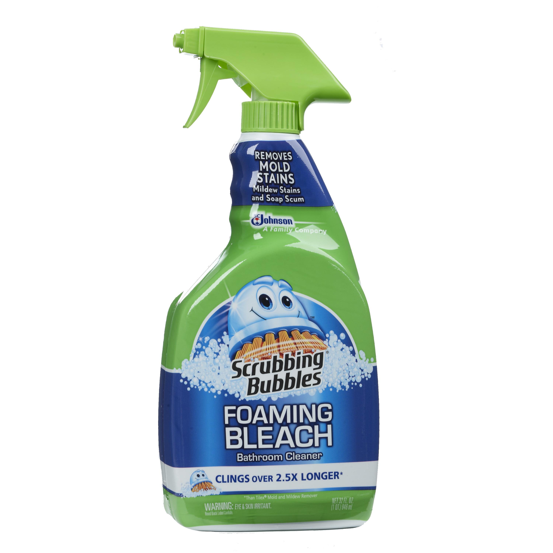 Scrubbing Bubbles Foaming Bleach Bathroom Cleaner Fluid Ounces - Bathroom cleaner liquid