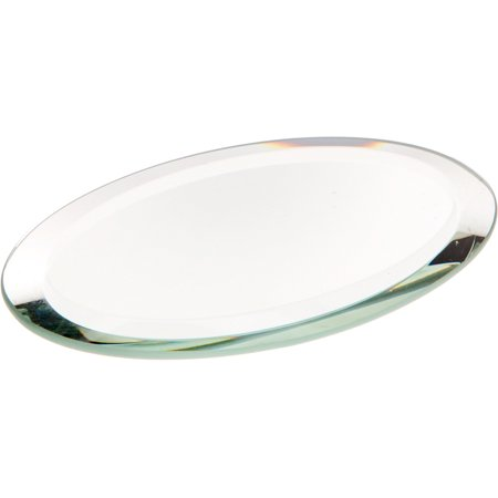 - Beveled Glass Mirror, Oval 3mm - 2