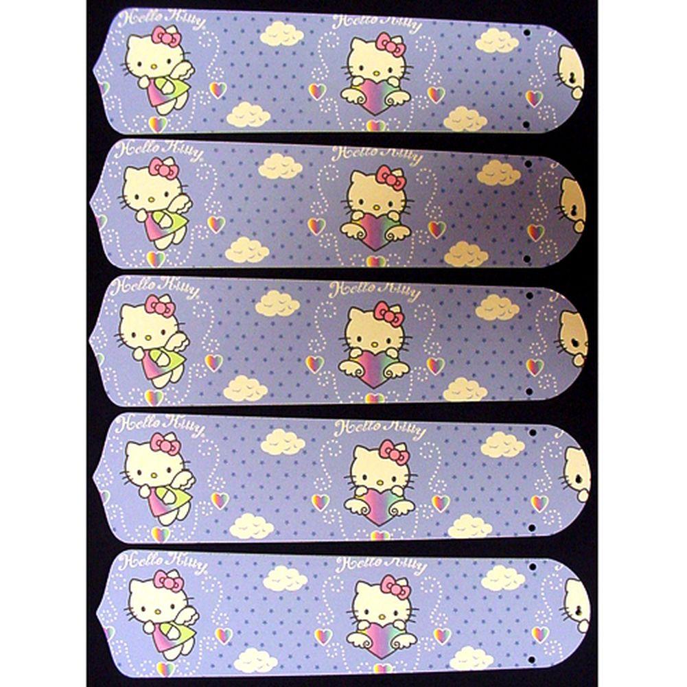 Ceiling Fan Designers Hello Kitty Custom Designer 52in Ce...