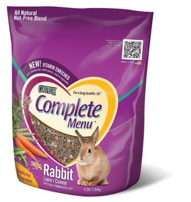 HEALTHY PET CareFRESH Complete Menu Rabbit Food 4.5 LB by Worldwide Sourcing