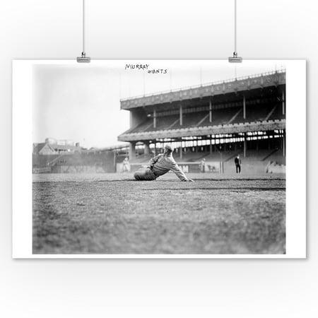 Red Murray, NY Giants, Baseball Photo #2 (9x12 Art Print, Wall Decor Travel Poster) - Ny Giants Decor