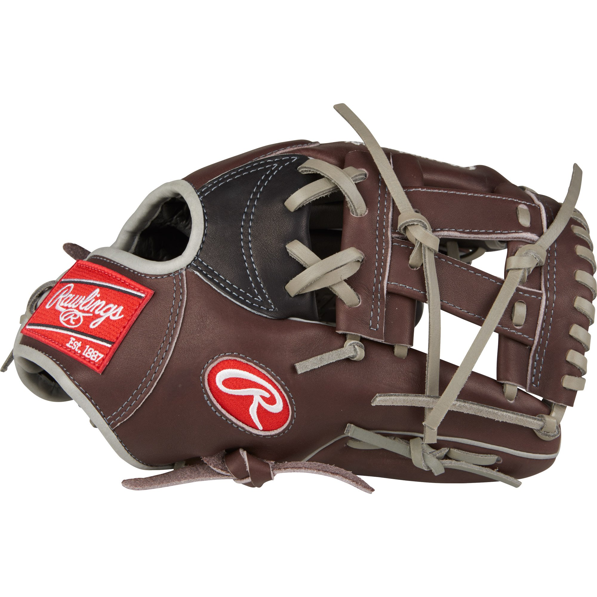 """Rawlings Heart of the Hide 11.75"""" Infield Pitcher Adult Baseball Glove, Brown by Rawlings"""